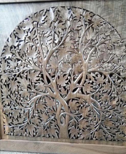 Walnut Wood Carving