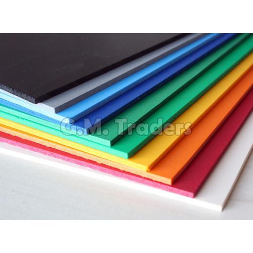 Multicolored PU Foam Sheets