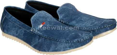 Denim Loafers