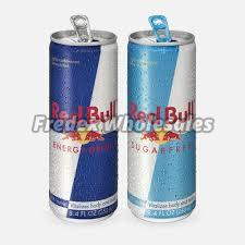 Sugar Free Red Bull Energy Drinks
