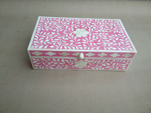 Bone Inlay Boxes