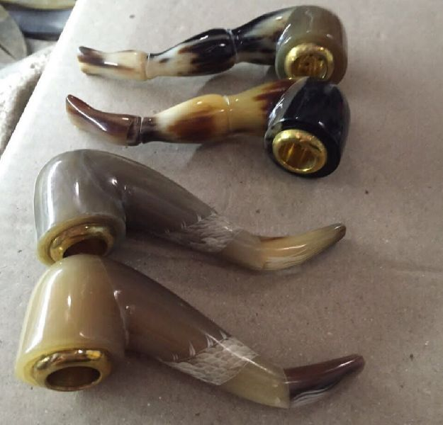 Horn Cigarette Smoking Pipes
