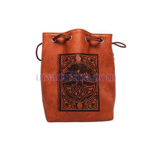 Ladies Leather Bucket Bag