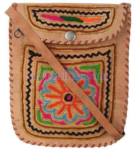 Leather Ladies Side Bag