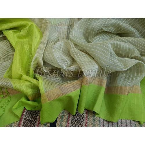 Green Matka Silk Pallu Saree