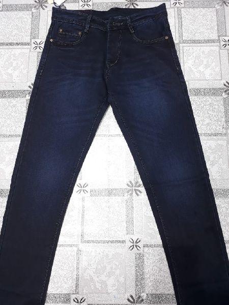 Mens Plain Non Denim Jeans