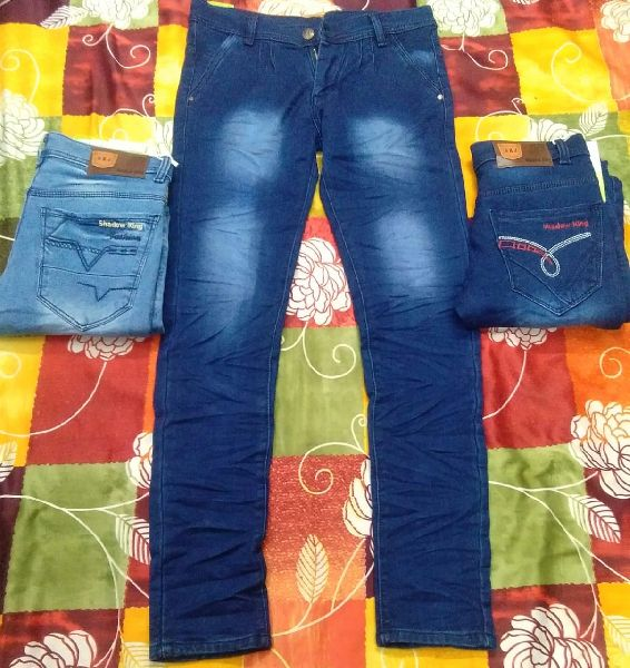 Mens Silky Denim Jeans