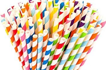 Printed Paper Paper Straw