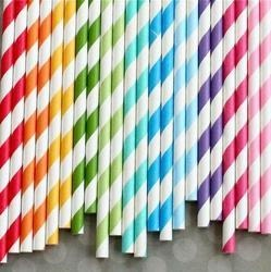 Sheeted Paper Straw