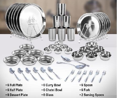 50 Pcs Designer Dinner Set