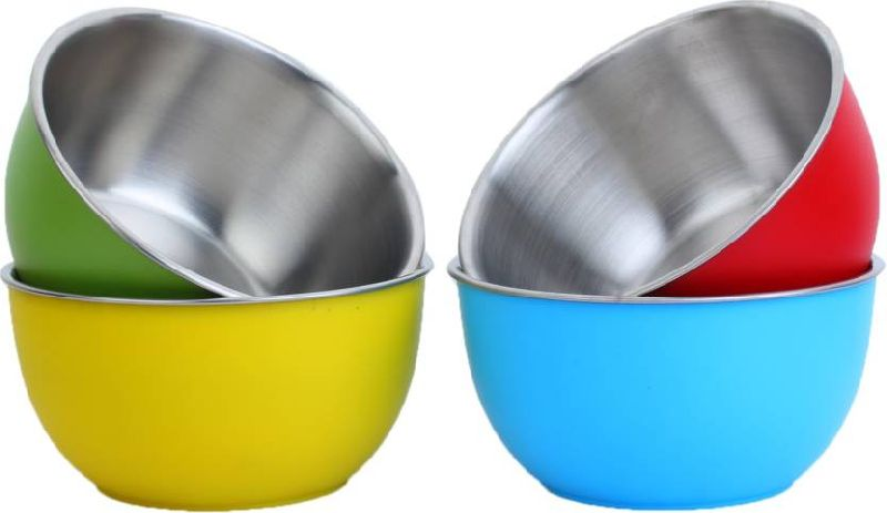 Plastic Coasted Steel Bowl