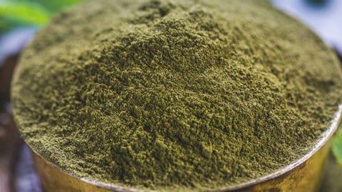 Green Mint Powder