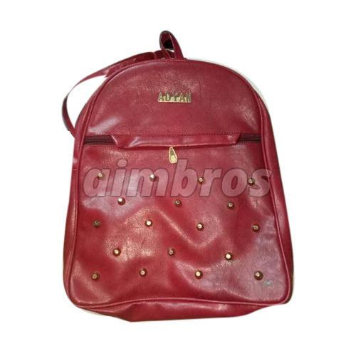 Girls Rexine College Bag