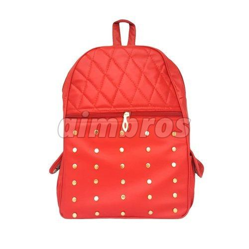Girls Rexine School Bag
