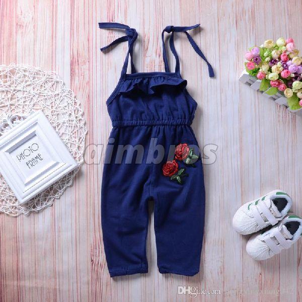 Kids Cotton Jumpsuit