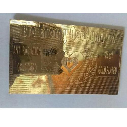 Golden Bio Energy Card