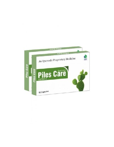 Herbal Piles Care Capsules 01