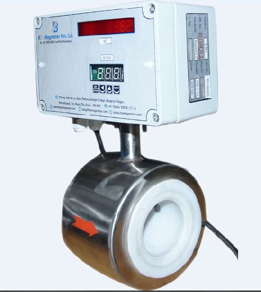 FT 04 Sandwich Type Electromagnetic Flow Meter