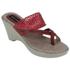 Designer Wedge Heel Slippers