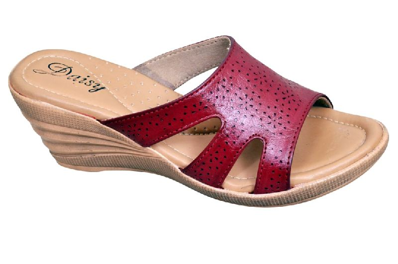 Fancy Wedge Heel Slippers
