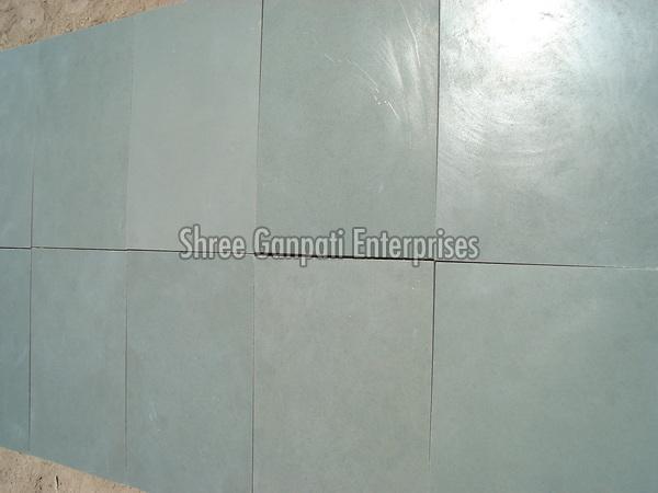 Blue Mirror Polished Kota Stone Tiles