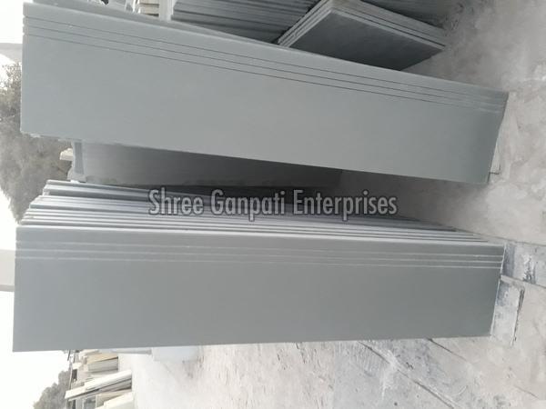 Grey Polished Kota Stone Tiles
