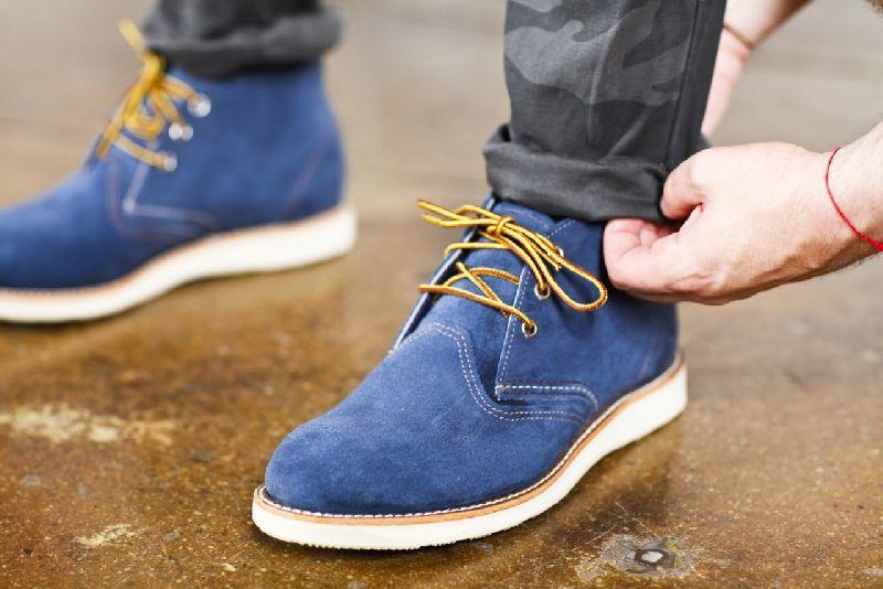Suede Footwear 01