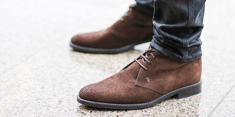 Suede Footwear 03