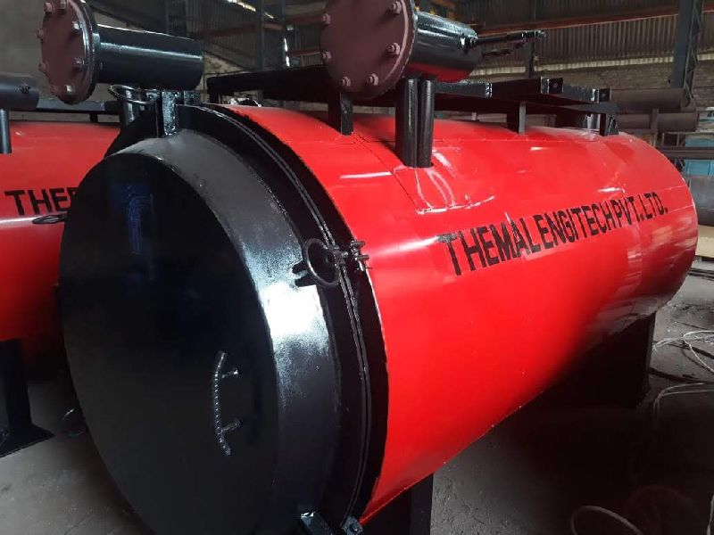 Horizontal Oil Fired Thermic Fluid Heater