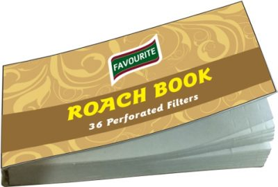 Favourite Roach Perforated Filter Paper Book