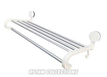 Stainless Steel 5 Bars Towel Clothes Rack