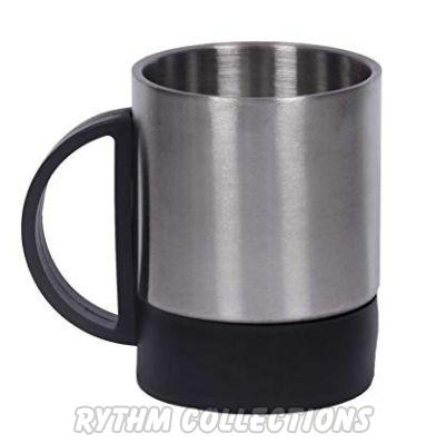 Stainless Steel Double Tea Coffee Mug
