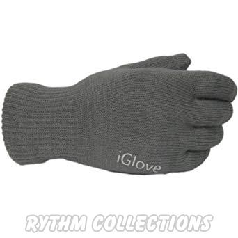 Winter Touch Grey Sensitive Gloves