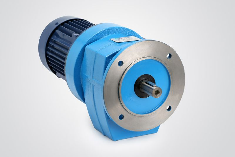 Flange Mounted Inline Helical Gearbox - Manufacturer Exporter