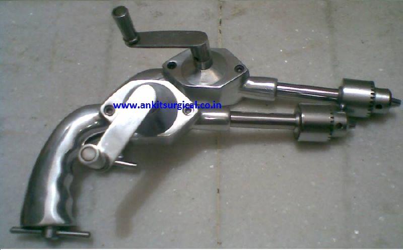 Universal Bone Drill Closed Gear