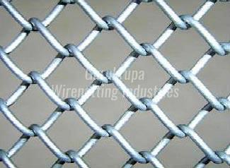 Industrial Chain Link Fence Safety Chain Link Fence Chain