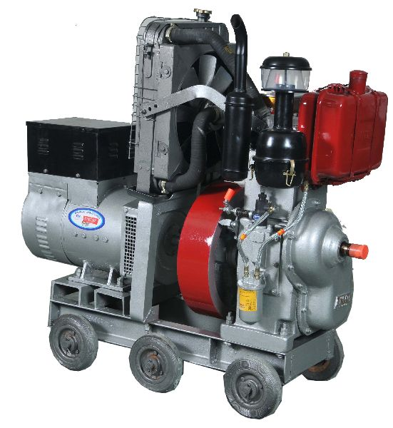 Water Cooled Engine Generator