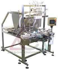 Single Head Automatic Linear Piston Filling Machine