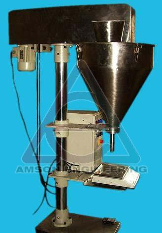 Weighmetric Powder Filling Machine