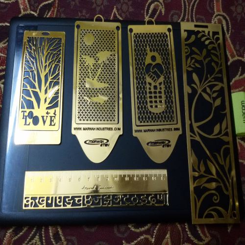 Brass Metal Bookmarks
