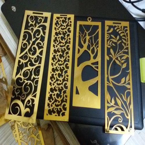 Metal Brass Bookmarks