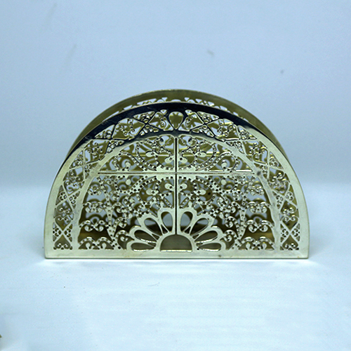 Silver Plated Tissue Paper Holder 01