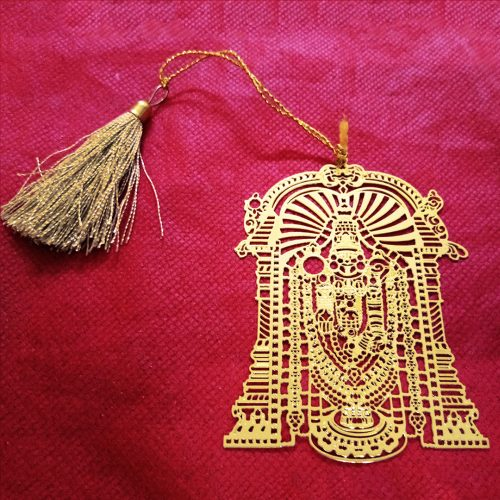 Temple Design Metal Bookmark