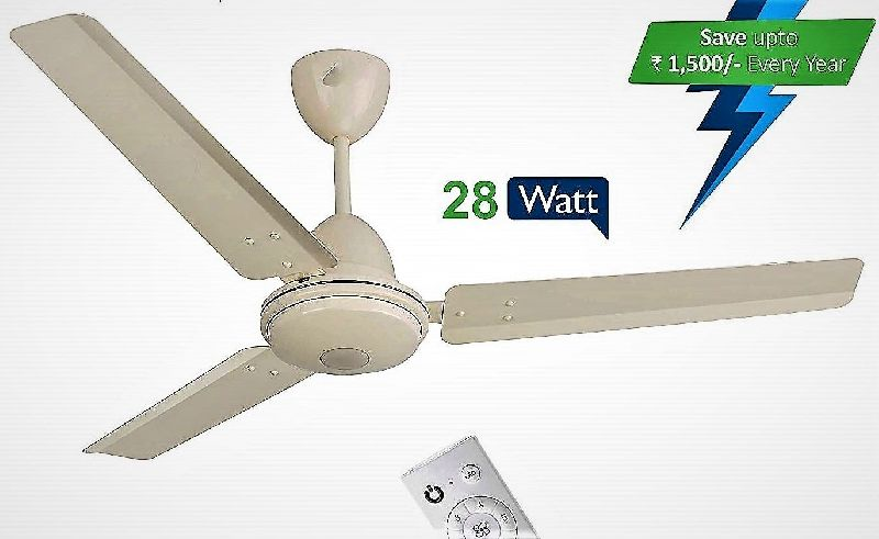 White BLDC Ceiling Fan