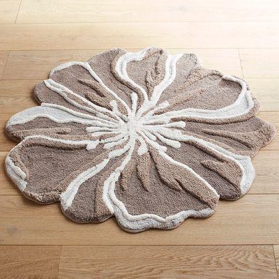 Floral Shaped Bath Mat