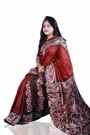 Ladies Batik Saree