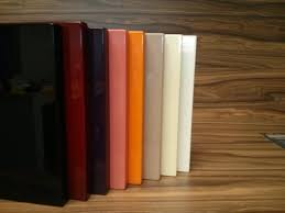 Lacquered Sheets