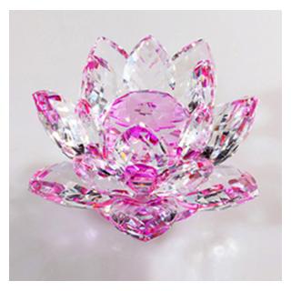 Crystal Glass Lotus