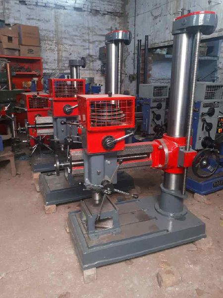 Simple Single Double Radial Drill Machine
