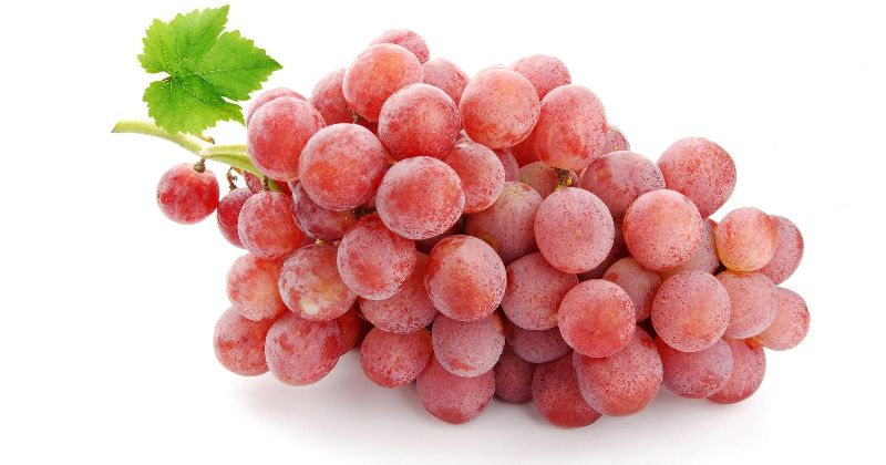 Fresh Pink Grapes